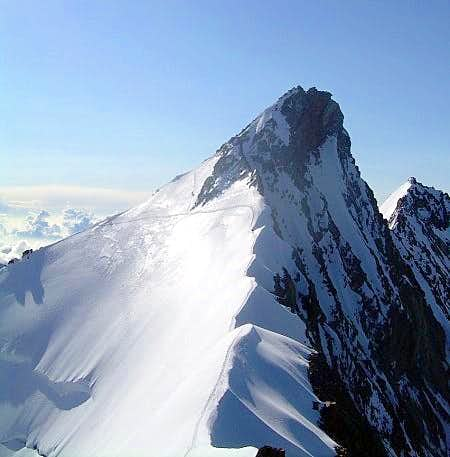 Nadelhorn from the Stecknadelhorn