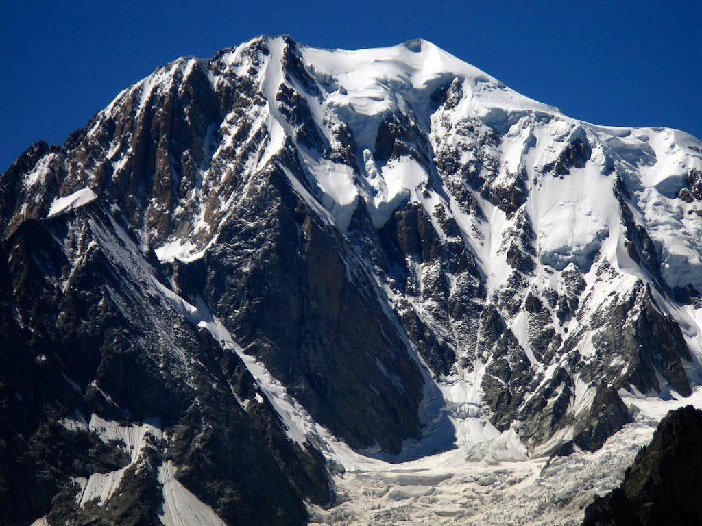Monte Bianco, the Brenva wall