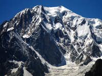 Monte Bianco, the Brenva wall