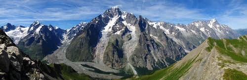 Mont Blanc Group, italian side