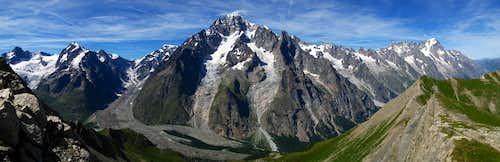 Mont Blanc Group, italian side