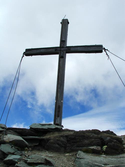 The cross on the summit
