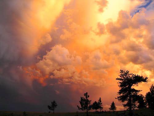 Clouds Aglow