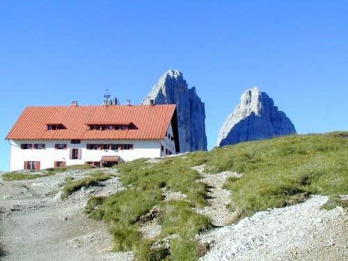 The Locatelli refuge