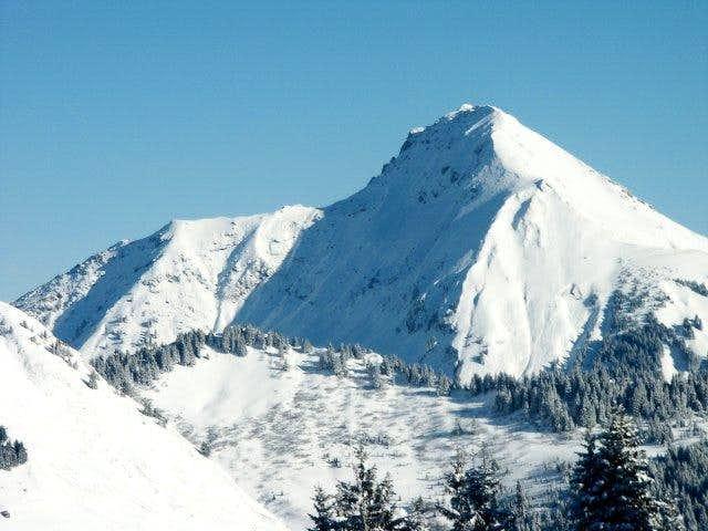 Mont de Grange with Arête de...