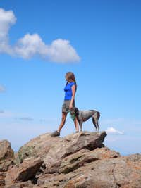 Summit of Uncompahgre Peak