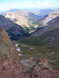 A view from Uncompahgre Peak