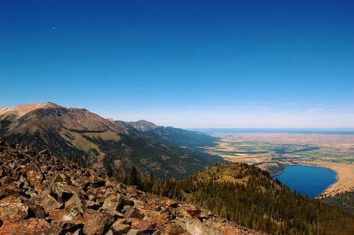 Chief Joseph Mt. and Wallowa Lake from Mt. Howard