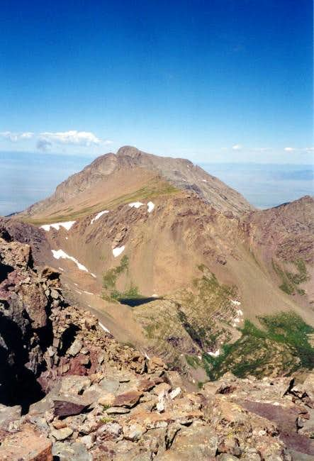 Kit Carson Peak from the...