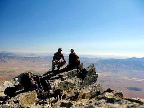summit of Split Mountain