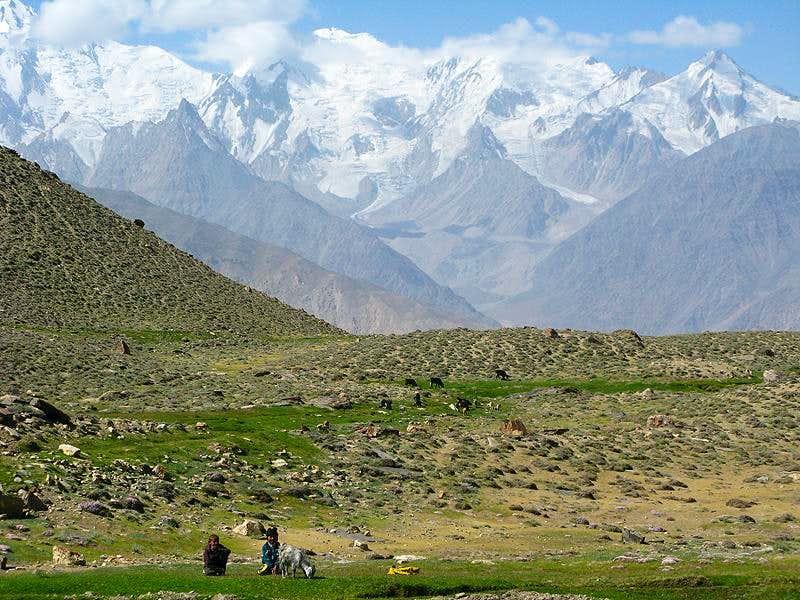 Pamiri Kids and Afghan Hindukush