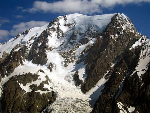 Mont Blanc West closeup