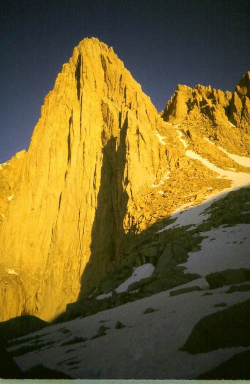 E.Face of Mt. Whitney