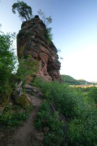 Schillerfels main summit