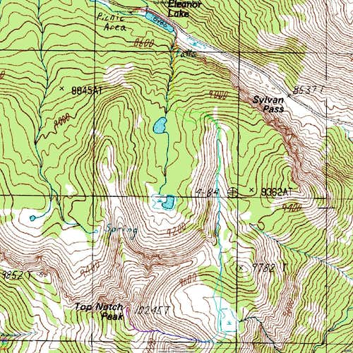 Topo map for My Ascent