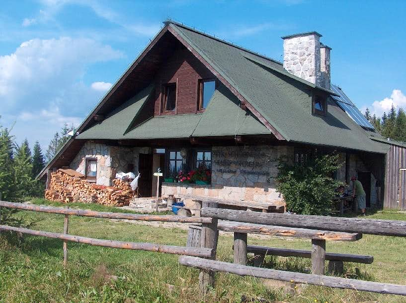 Stary Wierch hut, Gorce