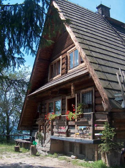 Maciejowa hut, Gorce