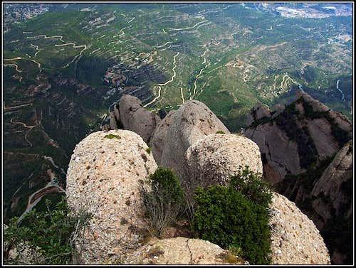 Sant Jeroni view