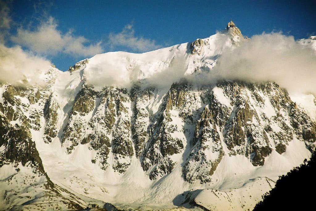 Aiguille du Midi - North Face
