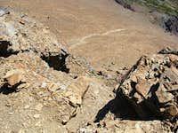 Southwestern Talus Slope