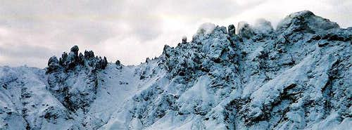 Rosszähne ridge seen from...
