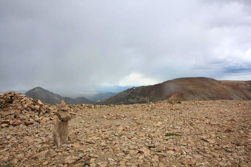 Summit of Mount Bross (14,172 ft.)