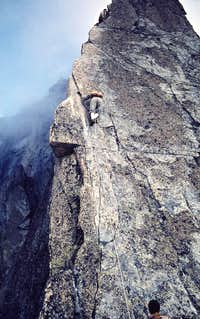 Salbitschijen south ridge....
