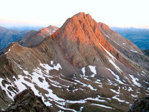 Vestal Peak's East Face