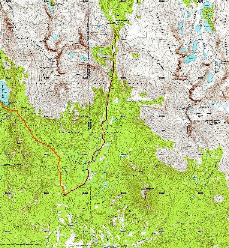 Little Sandy & Sweetwater Gap Trails
