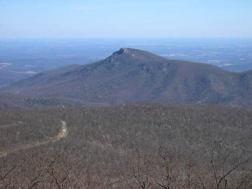 View of old rag from...