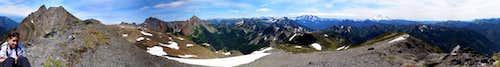 Tomyhoi Mountain 360 Degree Panorama