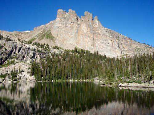 Ptarmigan Mountain from Lake Naninta