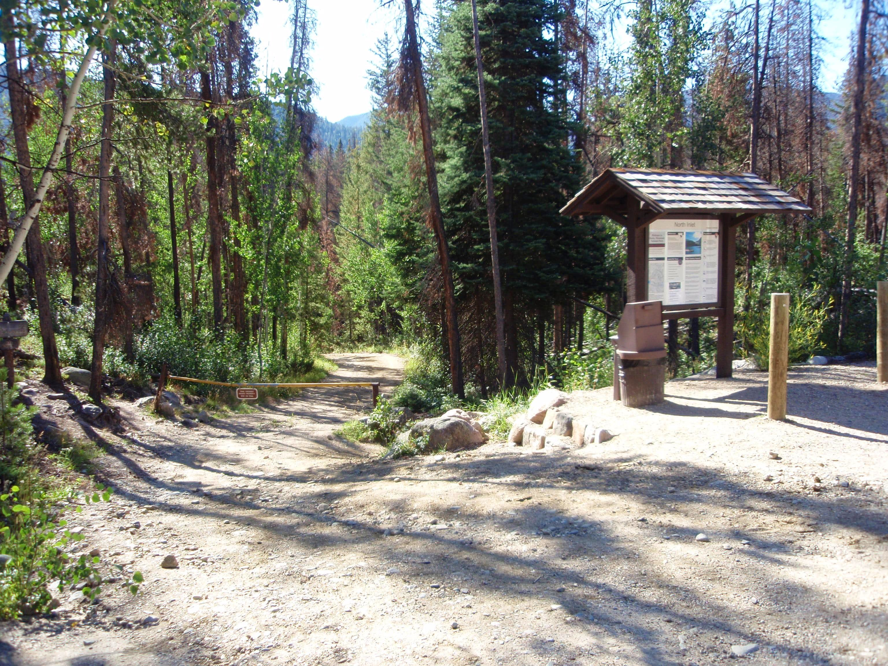 North Inlet Trailhead