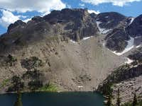 Ptarmigan Mountain from Lake Nokoni