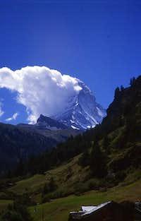 The Matterhorn is cooking ......