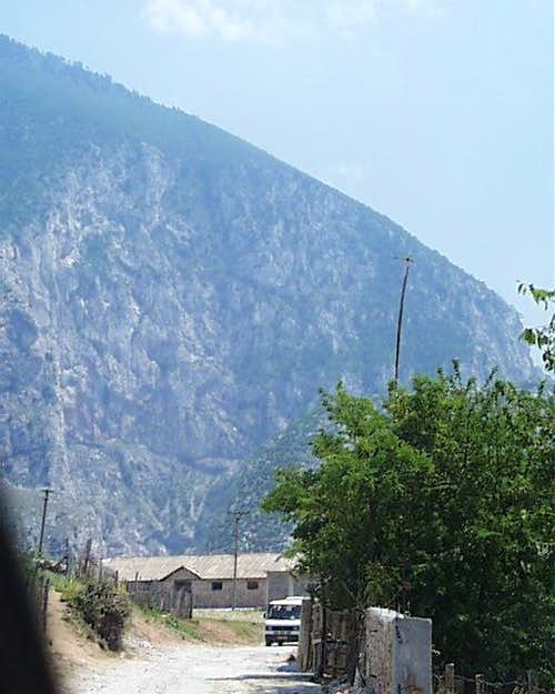 Bicaj Gorge - Upper Face