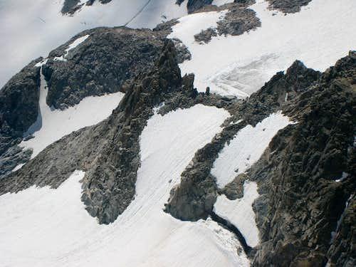 Upper Gooseneck Glacier