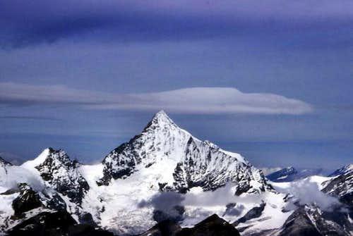 The Weisshorn from Alphubel...