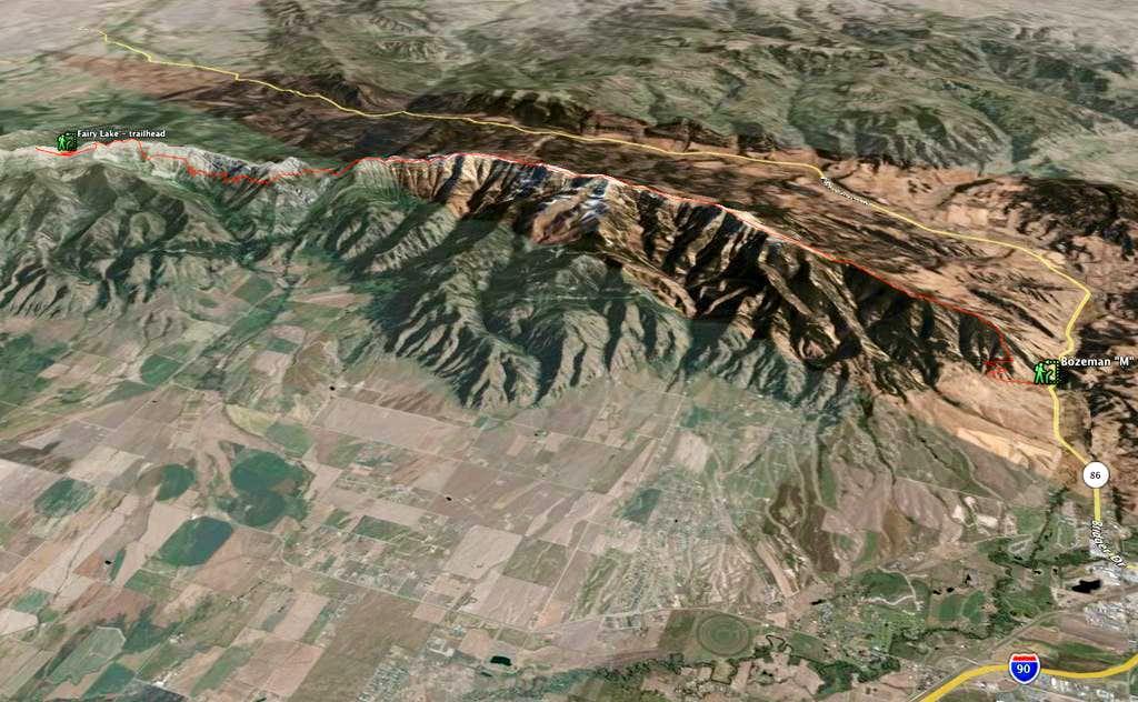 Bridger Ridge - 3D