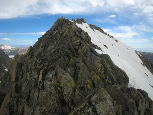 Gannett s summit ridge