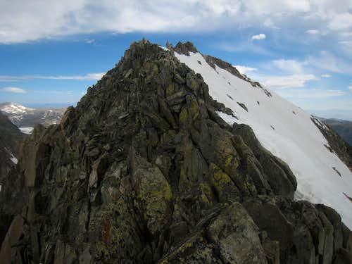 Gannett's summit ridge