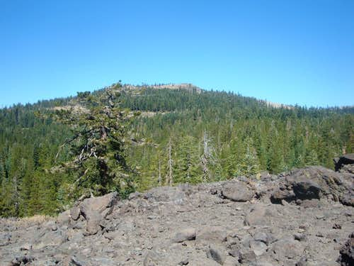 Andesite viewed from the south end of the ridge