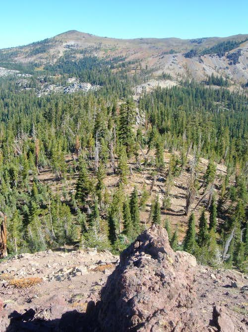Basin Peak from Andesite
