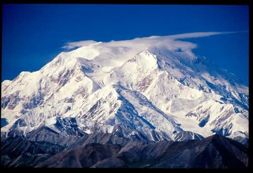 Beautiful Denali as seen from...