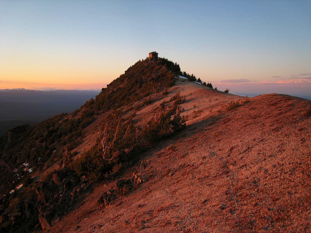 Summit of Mt. Scott