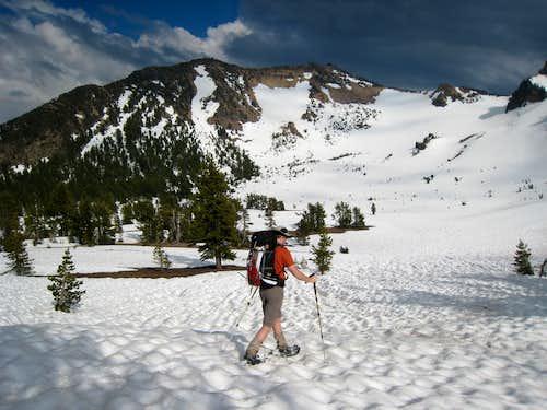 Snowshoeing Mt. Scott