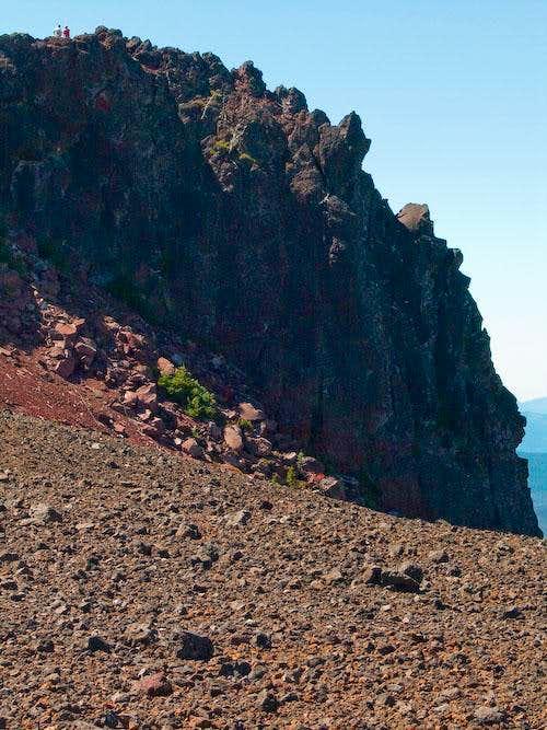 Black Crater summit block