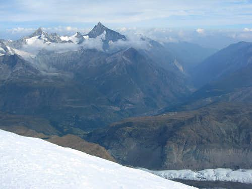 View from Breithorn