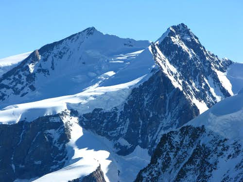 Nordend and Dufourspitze