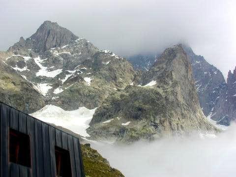 The Aiguille Croux (3256m.)...